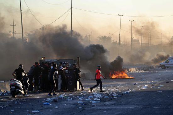 Антиурядові протести в Іраку. Під час заворушень загинули щонайменше 60 людей