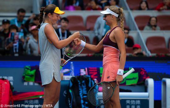 Ястремська пробилася до фіналу парного турніру в Пекіні