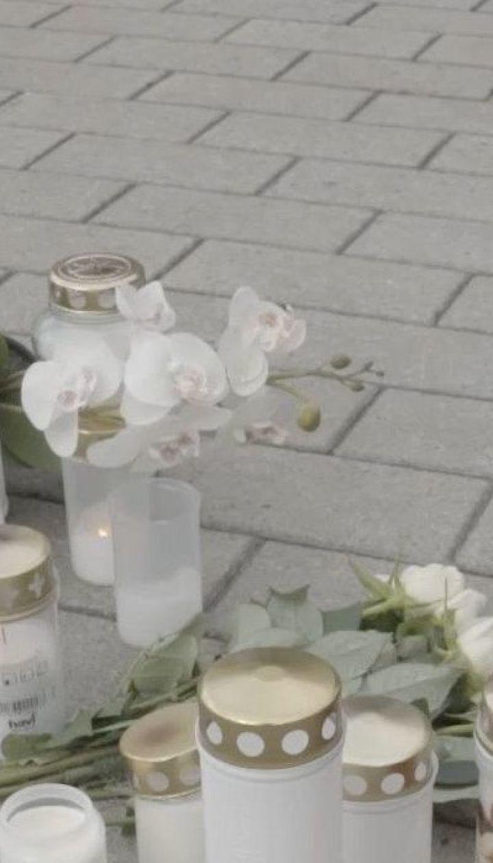 В Финляндии прощаются с 23-летней украинкой, которую зарезал нападающий в местном колледже