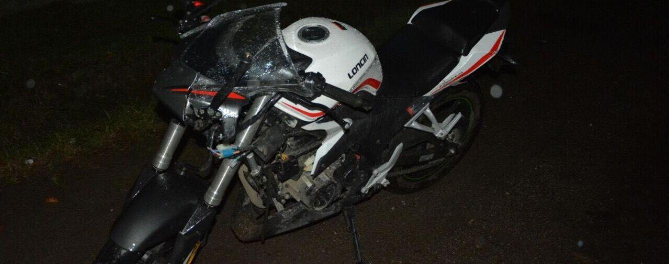 У селі на Закарпатті 18-річний мотоцикліст влаштував смертельну аварію