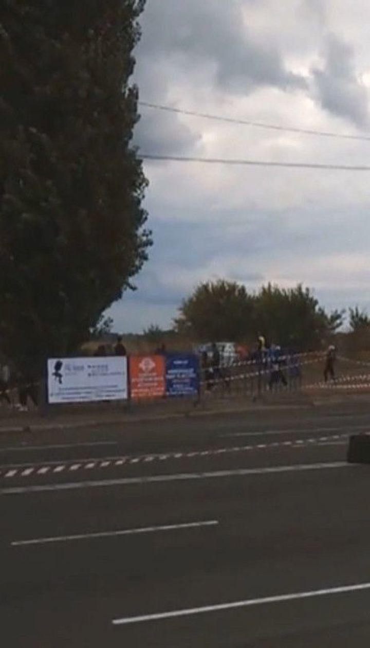 У Черкасах легковик під час перегонів влетів у натовп людей