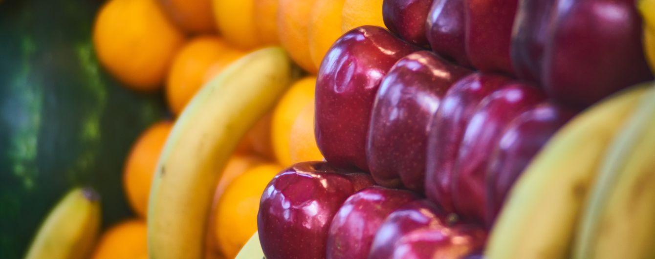Банан став дешевший та популярніший за яблуко. Чому так сталося