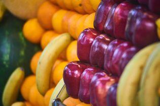 Україна суттєво збільшила імпорт фруктів