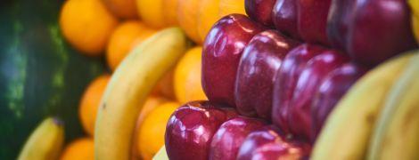Украина существенно увеличила импорт фруктов
