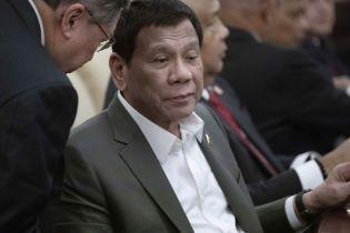 Президент Филиппин рассказал о своей болезни