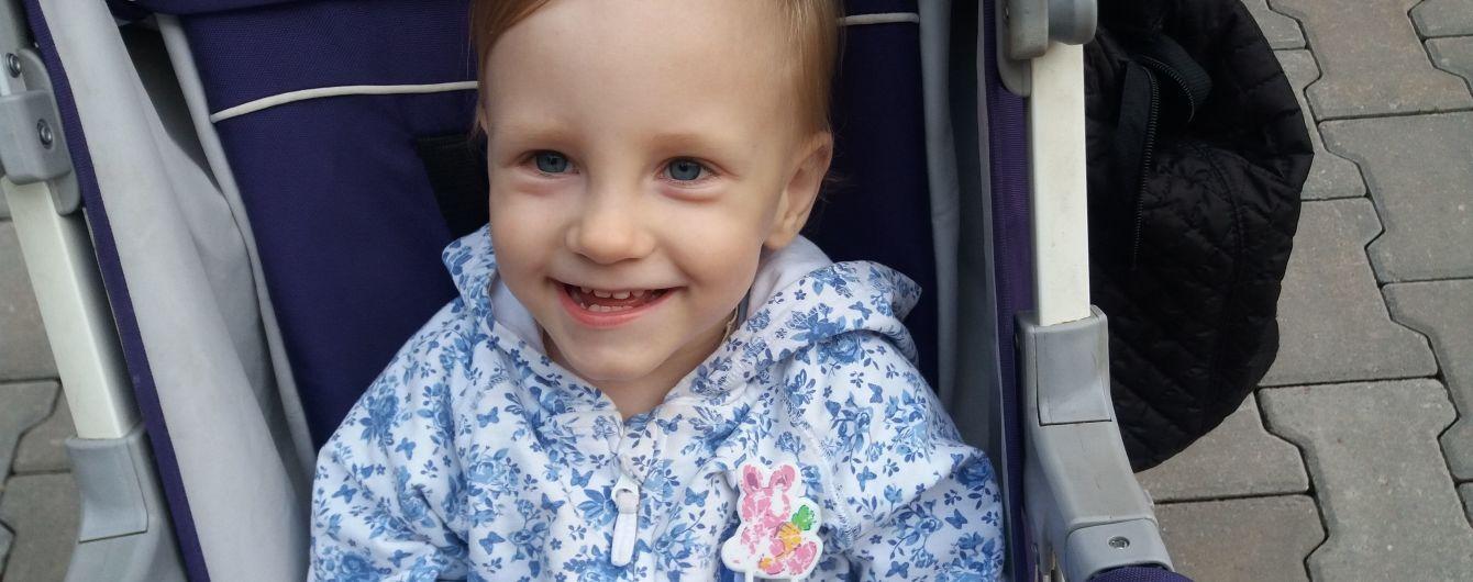 Вика родилась весом 600 грамм, но смогла выжить и сейчас нуждается в усиленной реабилитации