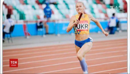 Украинская спортсменка завоевала серебро на чемпионате мира по легкой атлетике