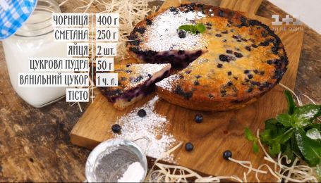 Финский пирог с черникой - рецепты Сеничкина