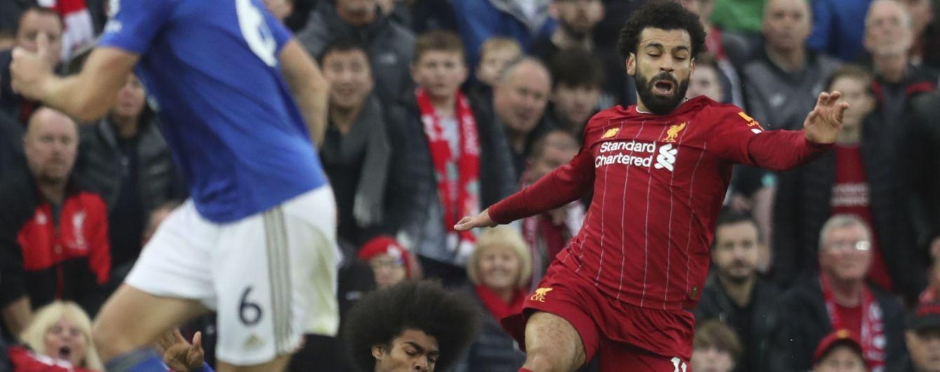 """Салах получил травму и может не сыграть с """"Манчестер Юнайтед"""""""