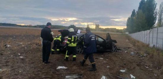 Під Києвом у ДТП загинув 7-річний хлопчик, який сидів на колінах у водія