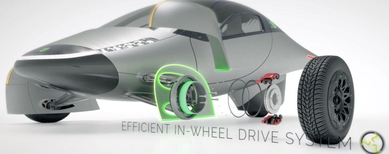 Електрокар з мотор-колесами зі Словенії отримає запас ходу у 1,5 тисячі км