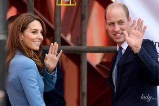До старта неделя: герцогиня Кембриджская и принц Уильям отправляются в новый королевский тур