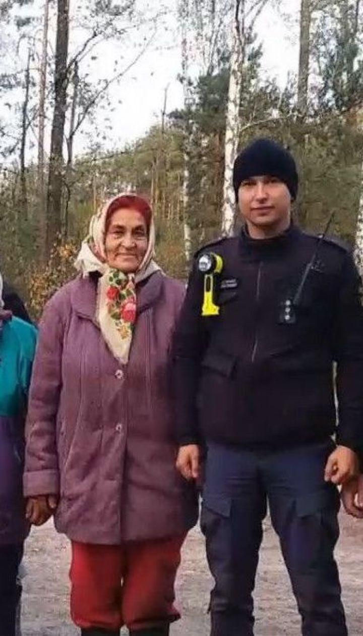 На Рівненщині надзвичайники та поліція усю ніч шукали двох пенсіонерок, які заблукали у лісі