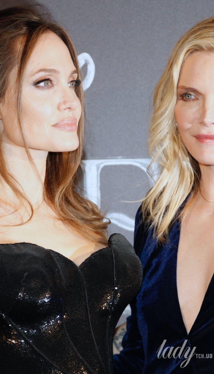 Анджеліна Джолі і Мішель Пфайфер