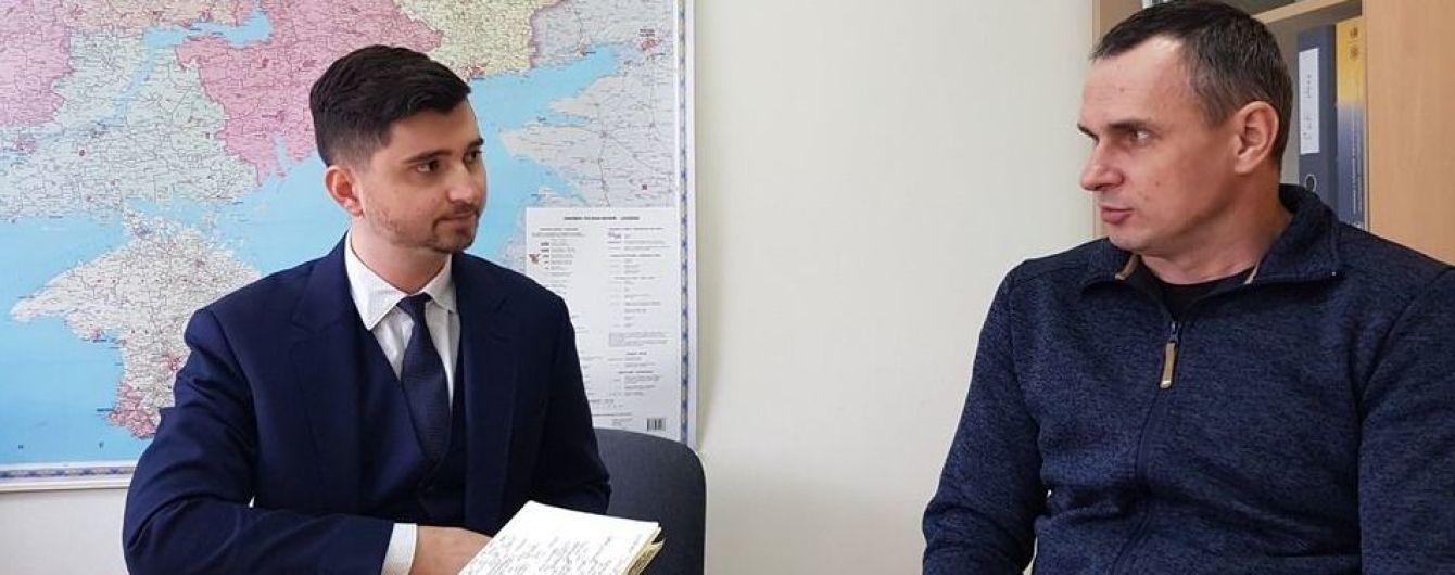 Сенцов дал показания Миссии ООН о тюремном заключении в РФ и Крыму