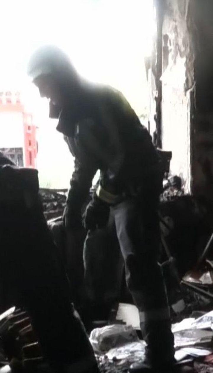 Во время пожара в Херсоне спасли трех человек, которые едва не угорели от дыма
