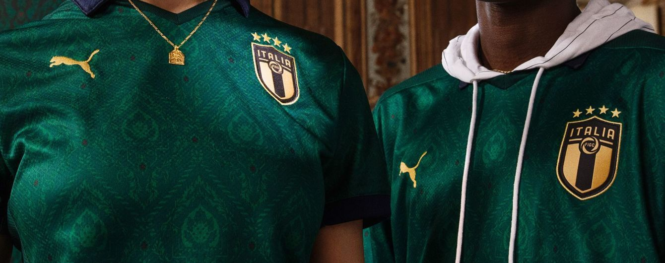 """""""Скуадра Верде"""". Сборная Италии сыграет в зеленой форме впервые за 65 лет"""