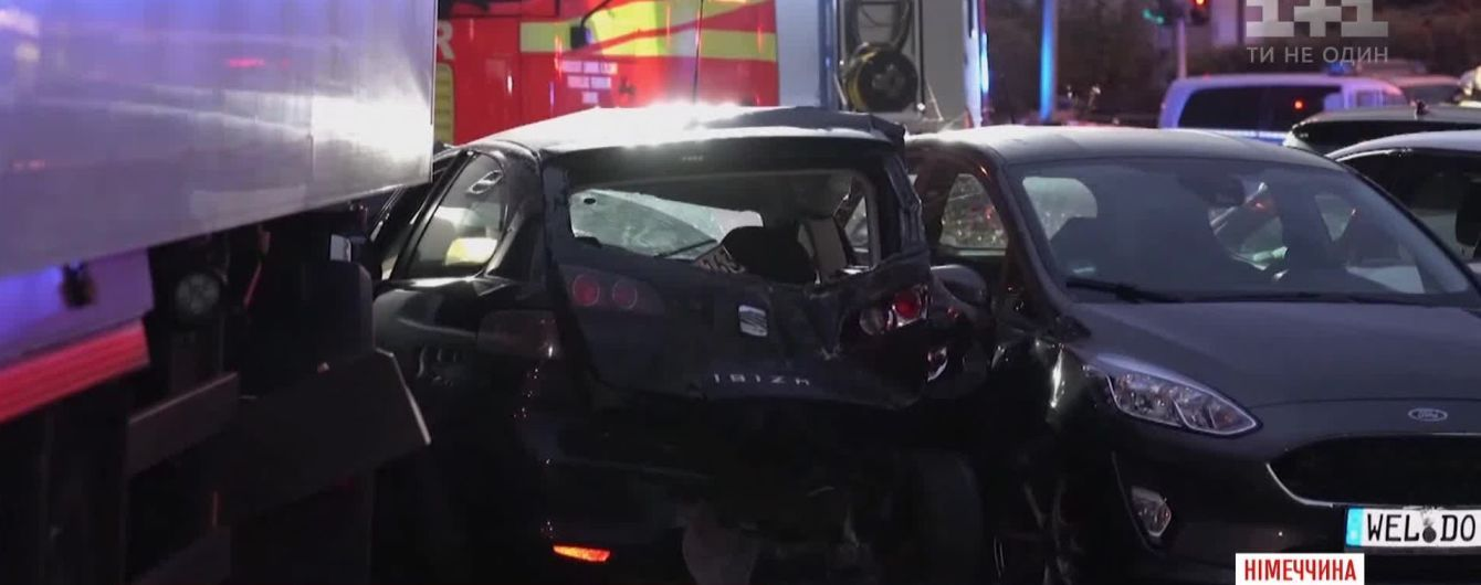 Таран на краденном грузовике в Германии: водителя неоднократно задерживали за разбой и наркотики