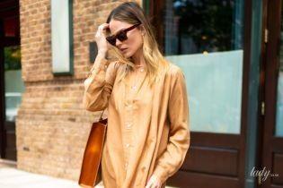 У верблюжій сукні-сорочці і рудих чоботях: Марго Роббі в об'єктивах папараці