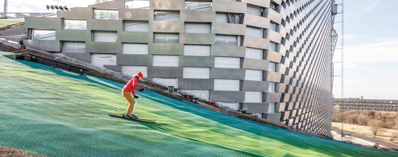 В Дании открыли необычный горнолыжный курорт