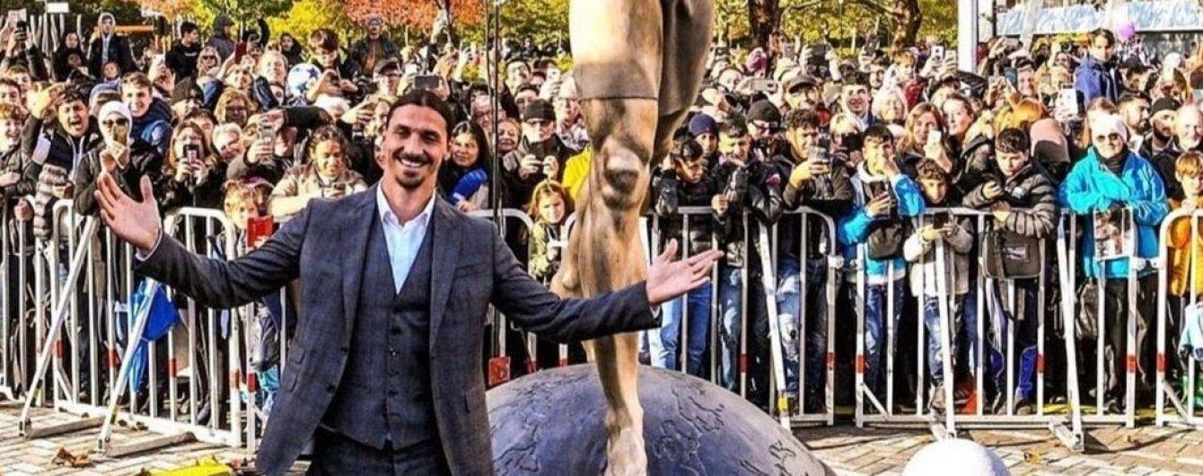 Ибрагимович сравнил свой памятник со статуей Свободы в Нью-Йорке