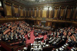 Парламент Италии решил существенно сократить количество депутатов