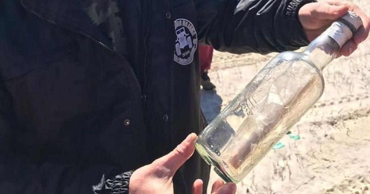 Порушили сухий закон: у Бразилії компанія знайшла пляшку з посланням від радянських моряків