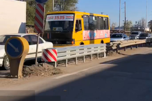 На Одесчине отбойник с амортизатором спас водителя от гибели