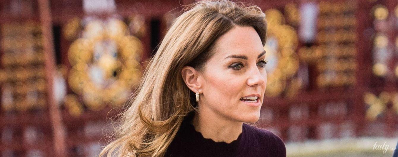 У дешевих кюлотах і з сумкою Chanel: герцогиня Кембриджська приїхала до музею