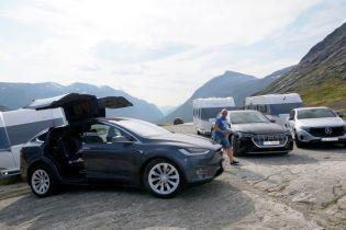 В Норвегии провели беспощадные тесты электрокаров Tesla, Audi и Mercedes
