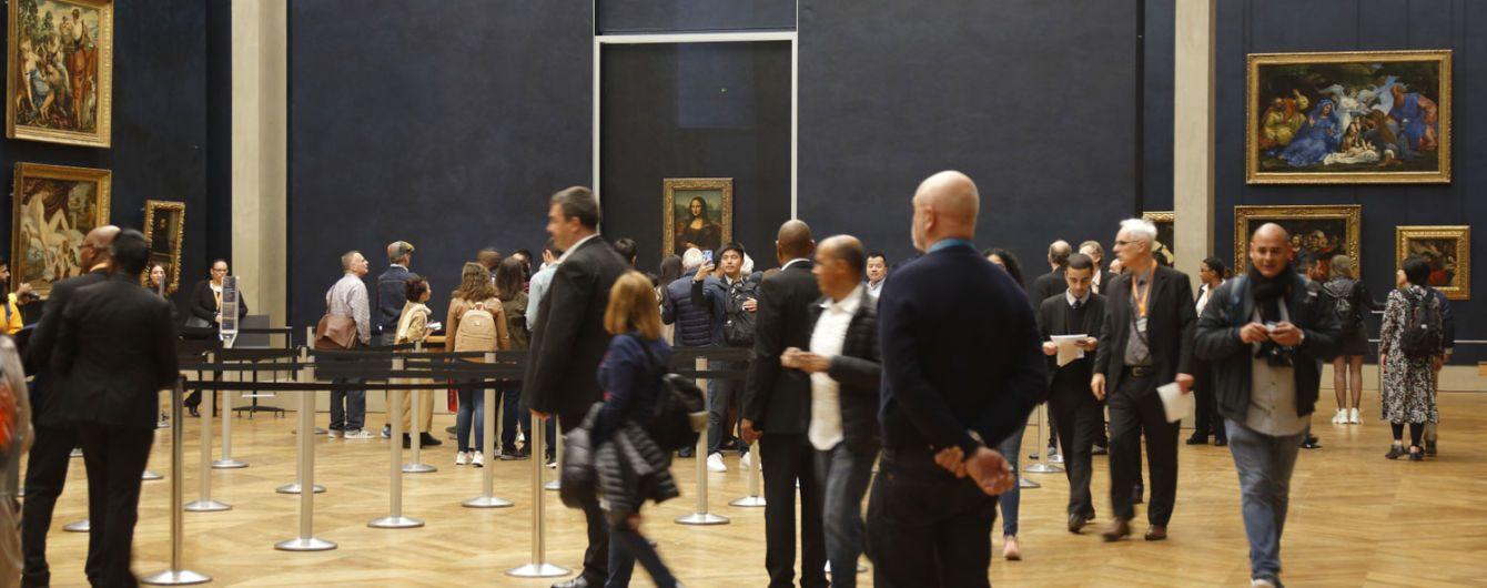 """В Лувре портрет """"Джоконды"""" вернули на место"""