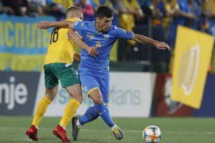 Букмекеры назвали фаворита в матче отбора к Евро-2020 между Украиной и Литвой