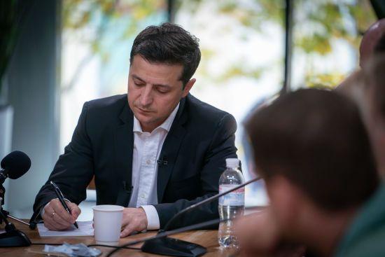 Зеленський звільнив начальника УДО і призначив нового