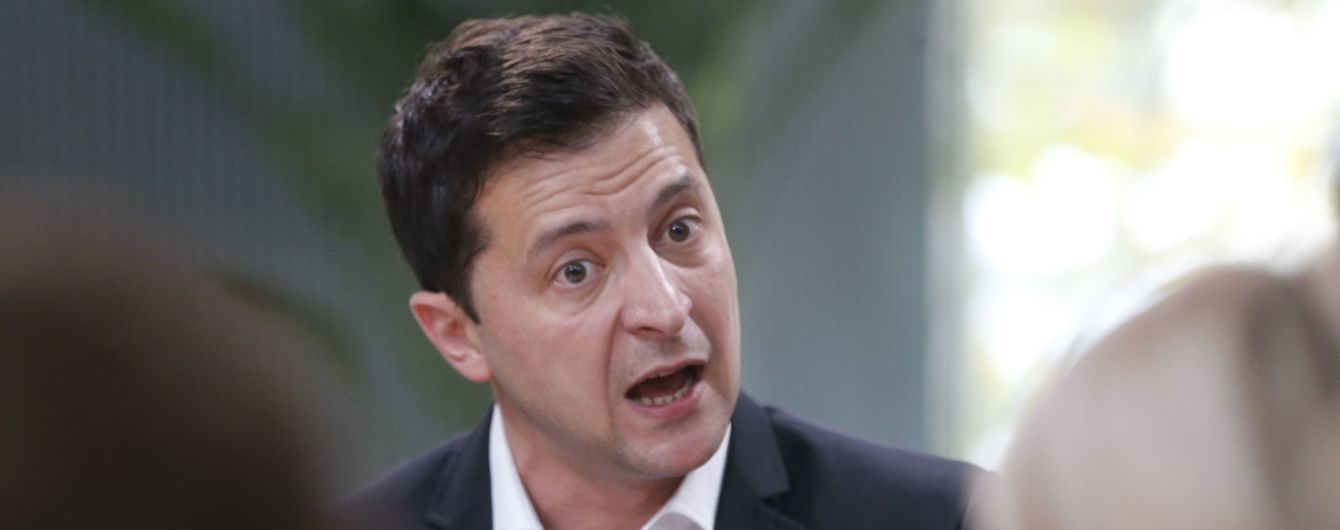 """Зеленський пообіцяв розпустити парламент, якщо """"слуги народи"""" не перестануть """"їсти один одного"""""""