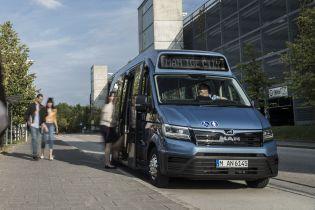 MAN создал свой первый компактный электробус