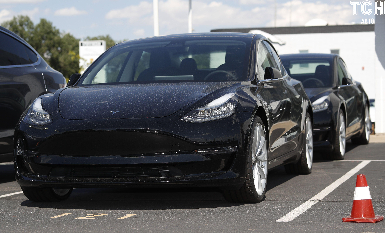 електрокари Tesla Model 3, зарядка, зарядна станція_2