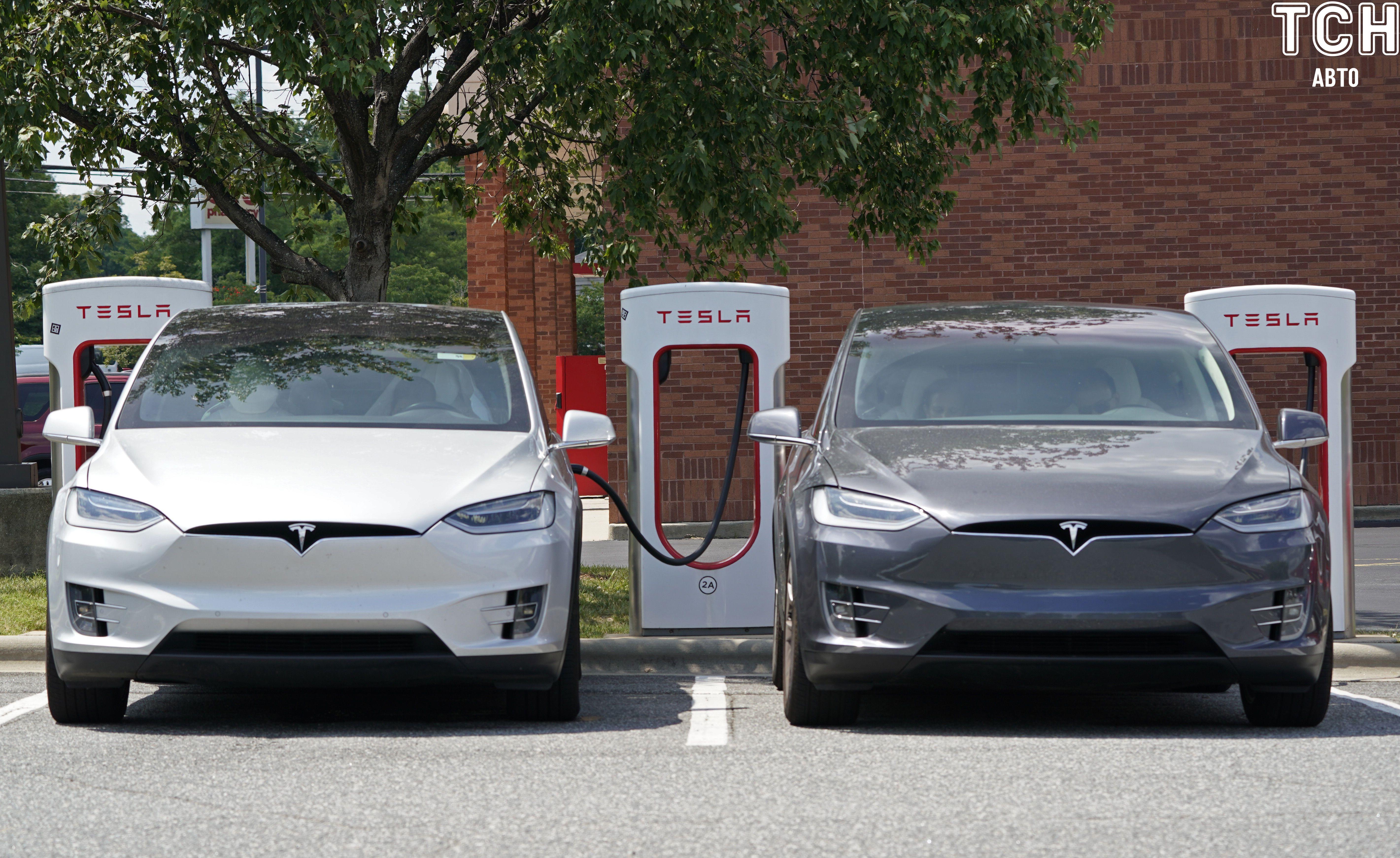 електрокари Tesla, зарядка, зарядна станція_1