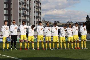 Юношеская сборная Украины в матче с десятью предупреждениями сыграла вничью против греков