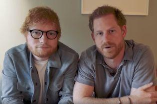 Рыжие принц Гарри и Эд Ширан удивили схожестью в общем забавном видео