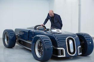 Кастомный родстер с форсированным мотором Bentley создали в Бельгии