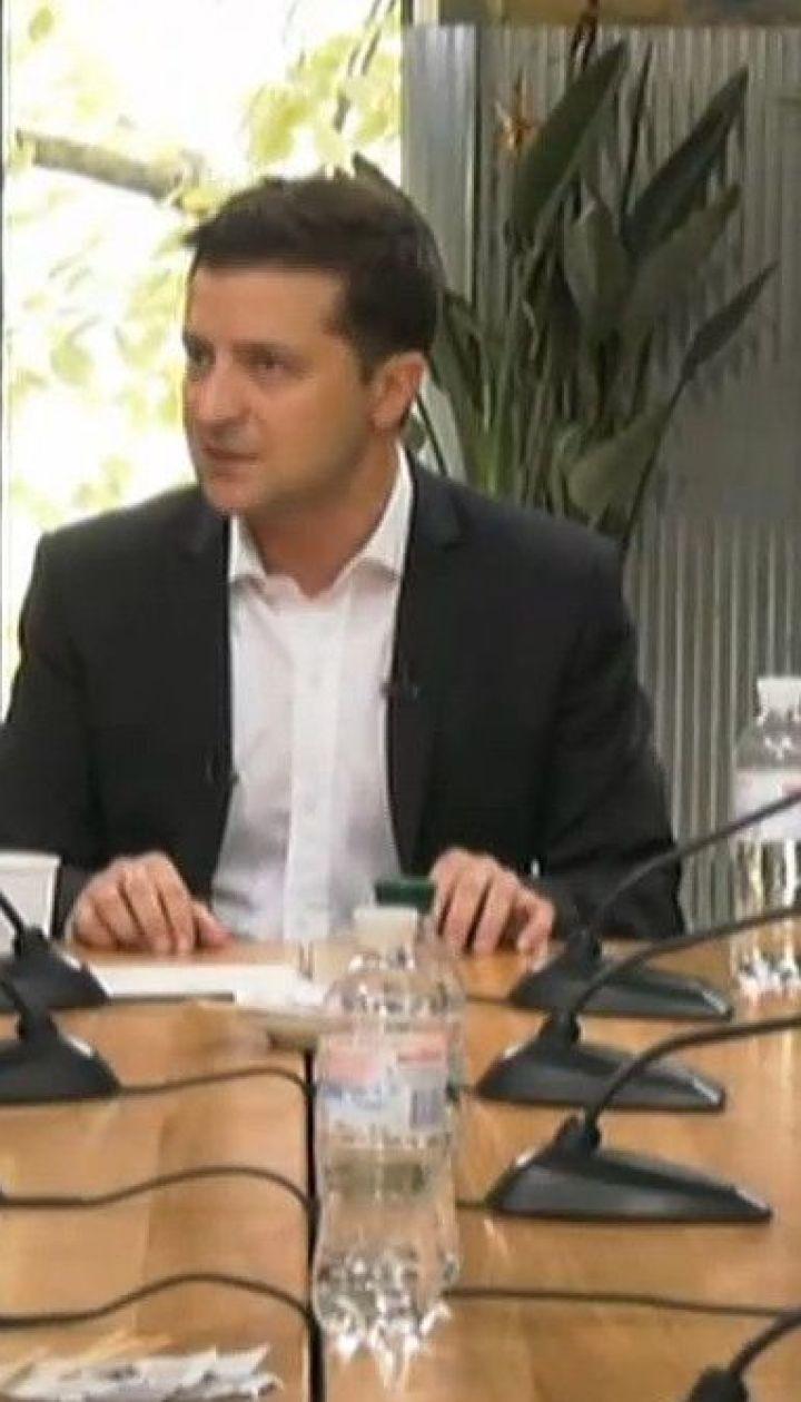 Зеленський цілий день присвятив спілкуванню з українськими журналістами