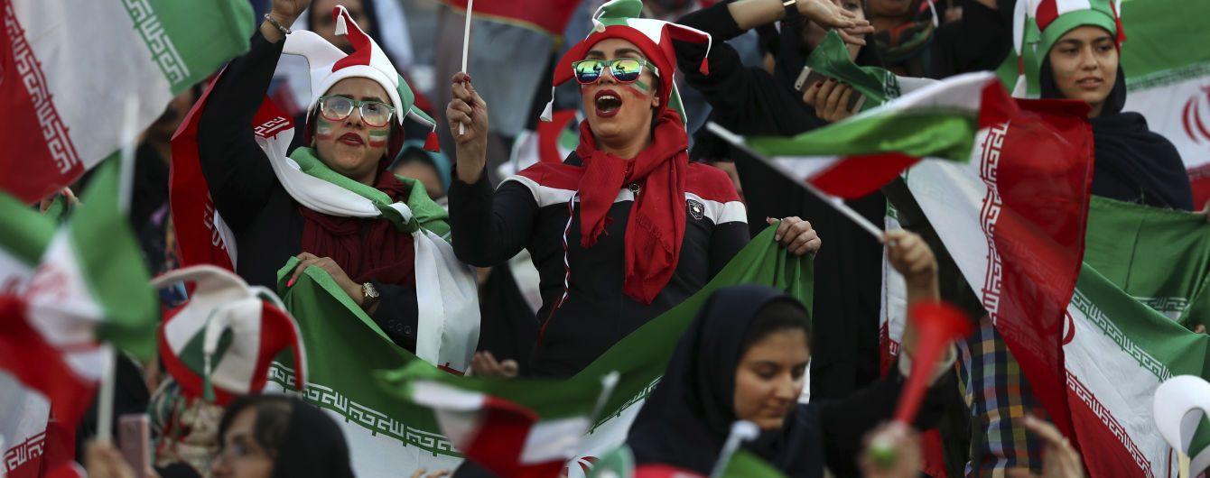 В Иране женщин пустили на футбольный матч впервые за 38 лет