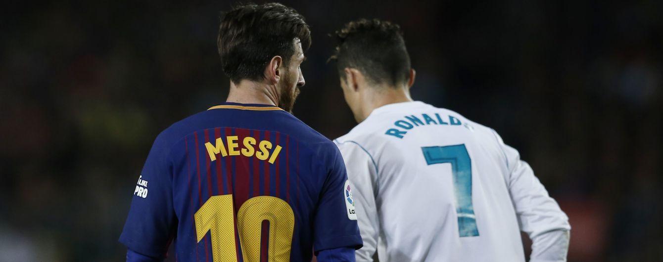 Мессі зізнався, що сумує за Роналду у Чемпіонаті Іспанії