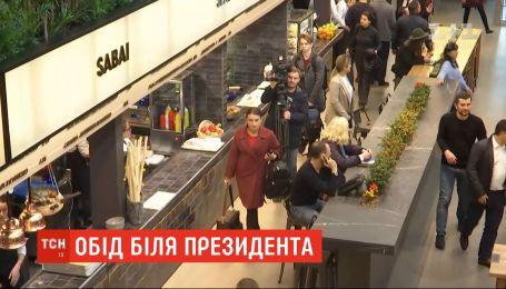 Чи вплинуло спілкування президента із журналістами на роботу столичного ринку їжі