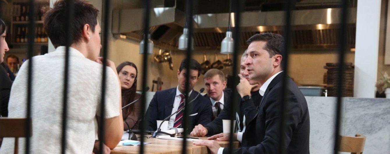 """""""Я - хороший президент"""". Зеленский ответил на вопрос журналиста, которого не аккредитовали на пресс-марафон"""