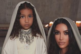 Ким Кардашян очаровала снимками с церемонии крещения в Армении