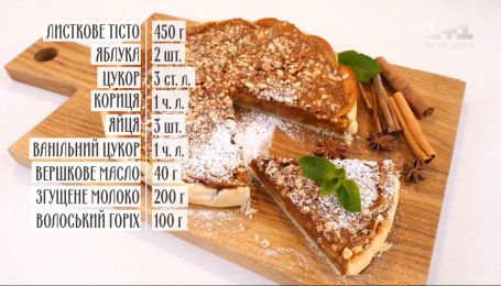 Пирог с яблоками и сгущенным молоком - рецепты Руслана Сеничкина