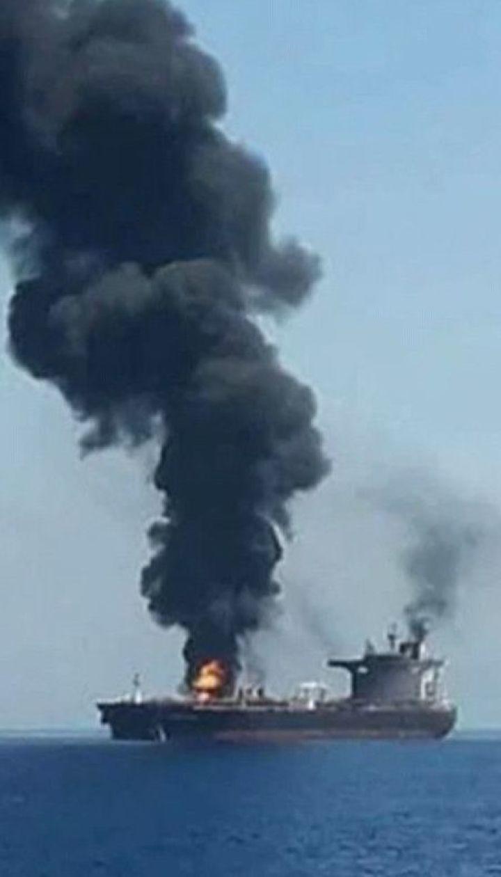 У Червоному морі вибухнув іранський танкер унаслідок ракетного обстрілу
