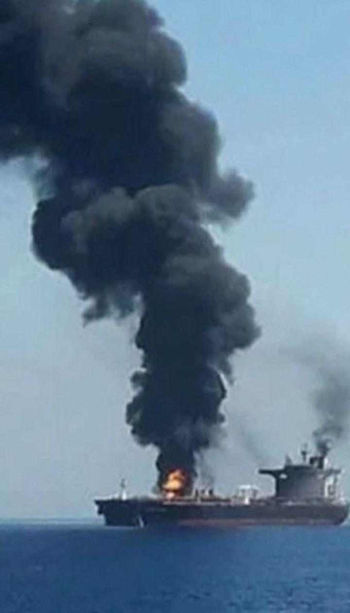 В Красном море взорвался иранский танкер вследствие ракетного обстрела