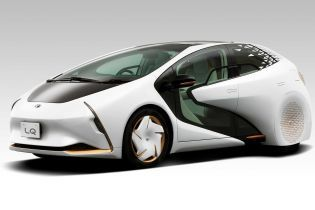 Toyota интригует презентацией электрокара будущего